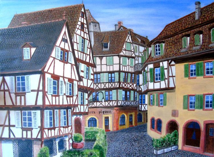 Colmar by blaesius - search and link Fine Art with ARTdefs.com
