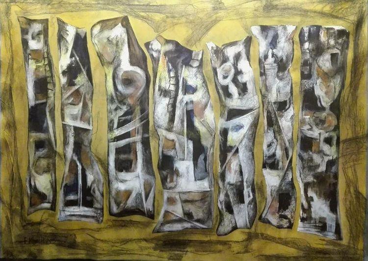 Kobane #1 by Ferhad Khalil - search and link Fine Art with ARTdefs.com