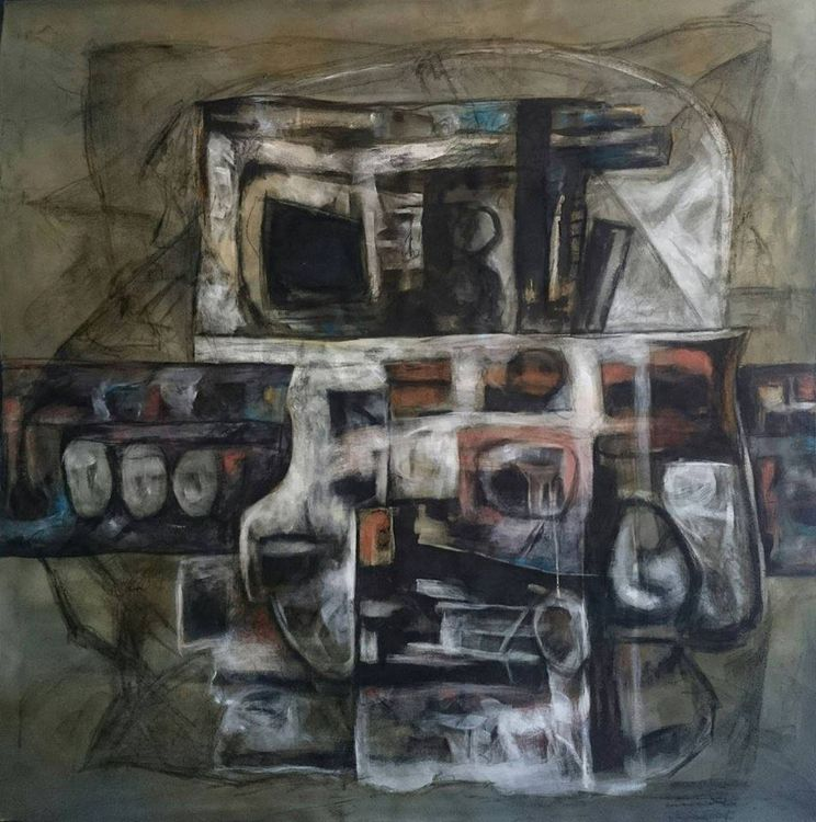 Kobane #2 by Ferhad Khalil - search and link Fine Art with ARTdefs.com