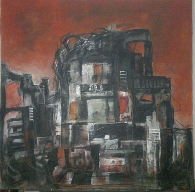 Kobane #3 by Ferhad Khalil - search and link Fine Art with ARTdefs.com
