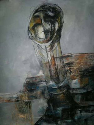 Shingal Woman #4  by Ferhad Khalil - search and link Fine Art with ARTdefs.com