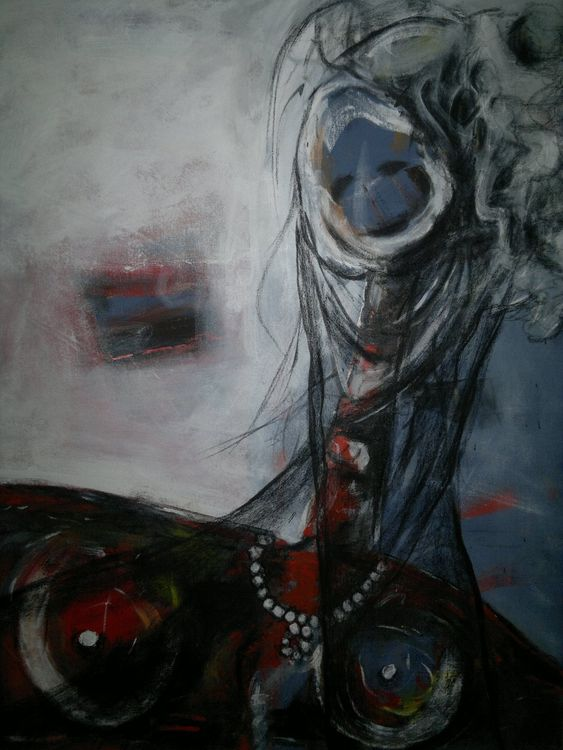Shingal Woman #5 by Ferhad Khalil - search and link Fine Art with ARTdefs.com