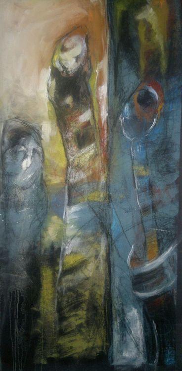 Shingal Woman #6  by Ferhad Khalil - search and link Fine Art with ARTdefs.com