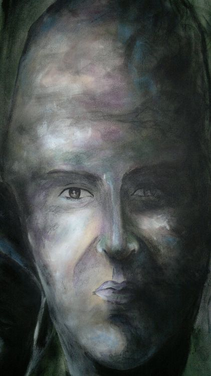 Kobane Man by Ferhad Khalil - search and link Fine Art with ARTdefs.com