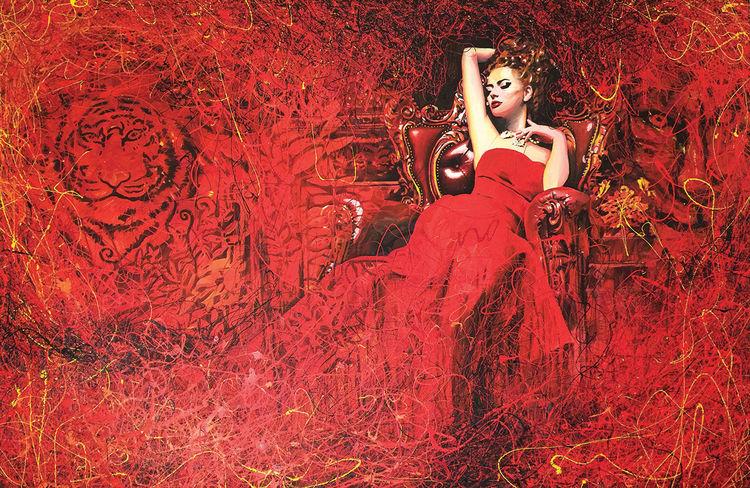 La prédatrice alanguie by Hugues De Vendôme - search and link Fine Art with ARTdefs.com