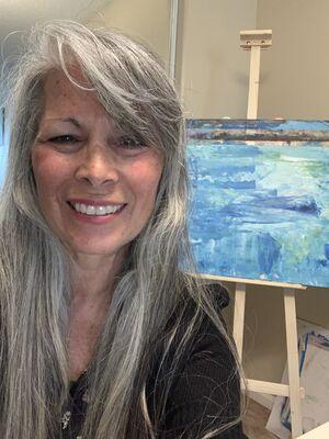 Water # by Karyn Ingrid Estela - search and link Fine Art with ARTdefs.com