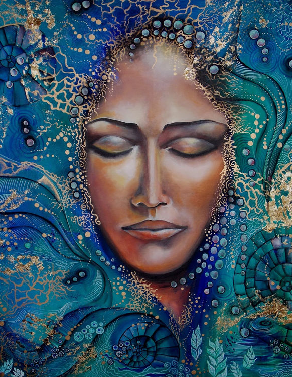 Calypso by Isabelle Le Pors - search and link Fine Art with ARTdefs.com