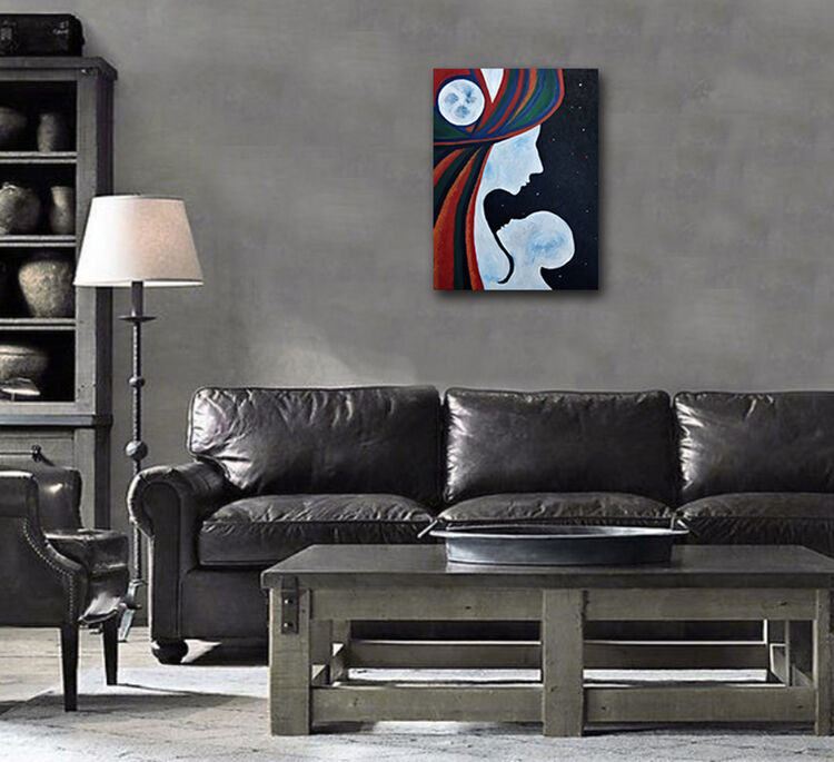 Invisible 2  by Lu Art - search and link Fine Art with ARTdefs.com