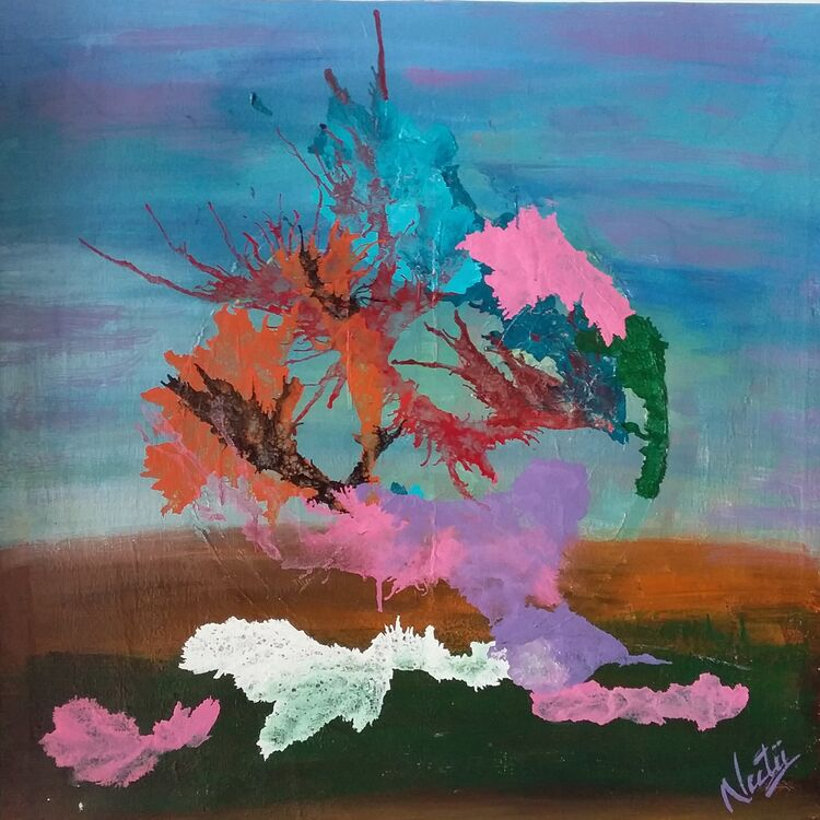 Bliss by Neeti Bisht - search and link Fine Art with ARTdefs.com