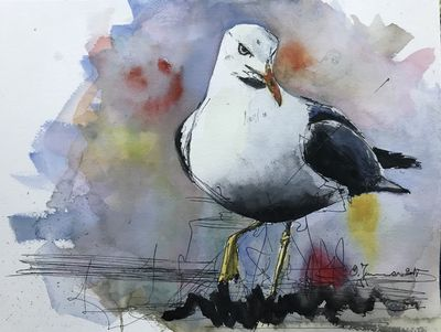 Bird 2 by Olfa Jomaa - search and link Fine Art with ARTdefs.com