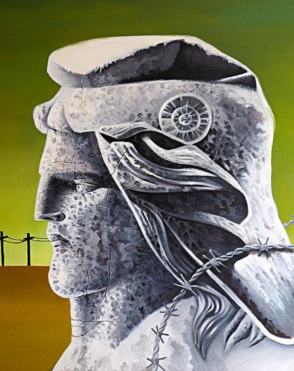 Patria by Rubén Cukier  - search and link Fine Art with ARTdefs.com