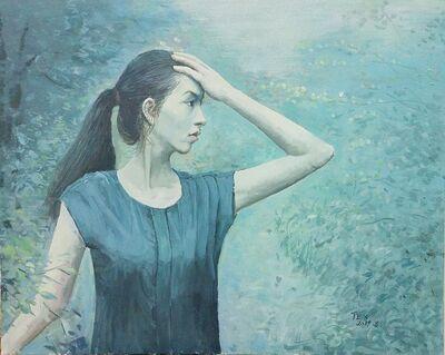blue dream by Tex - search and link Fine Art with ARTdefs.com