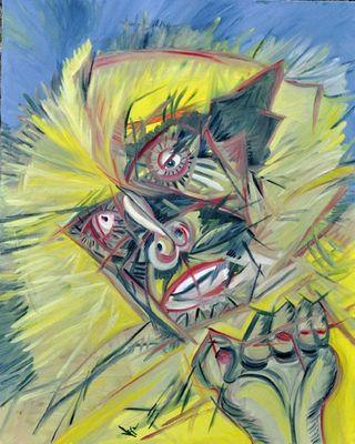 Langur by Virginia - search and link Fine Art with ARTdefs.com