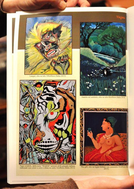 Langur by Virginia Ersego - search and link Fine Art with ARTdefs.com