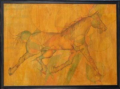 Cavallo by Virginia Ersego - search and link Fine Art with ARTdefs.com