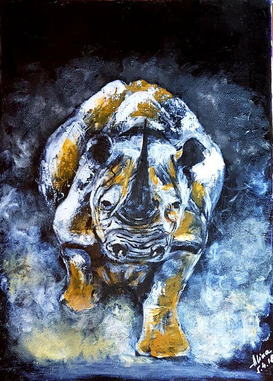 The last white by Alina Ciuciu - search and link Fine Art with ARTdefs.com