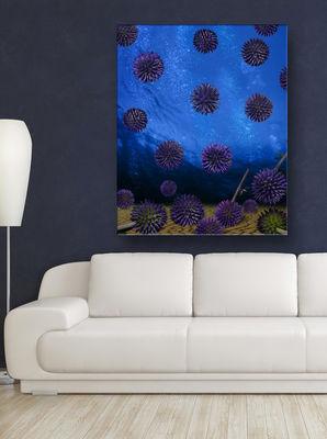 Globe Thistle Scotland by Andrea DiFiore - search and link Fine Art with ARTdefs.com