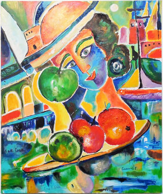It is all about Life -  Haifa . by Anel Gur - search and link Fine Art with ARTdefs.com