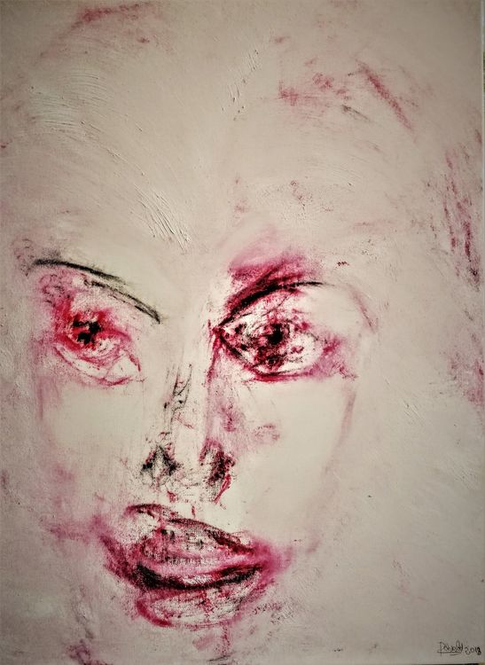 Muse by Pierre Cherbit - search and link Fine Art with ARTdefs.com