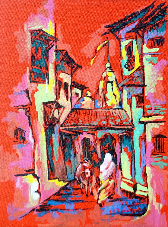 SURRENDER by Bansri Chavda - search and link Fine Art with ARTdefs.com