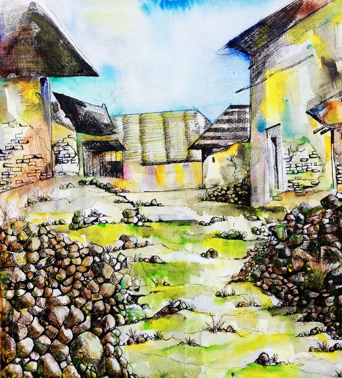 SEISTA by Bansri Chavda - search and link Fine Art with ARTdefs.com