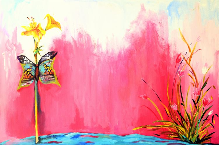 WE by Bansri Chavda - search and link Fine Art with ARTdefs.com