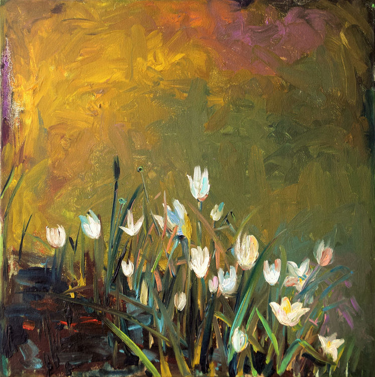 LILY LOVE by Bansri Chavda - search and link Fine Art with ARTdefs.com