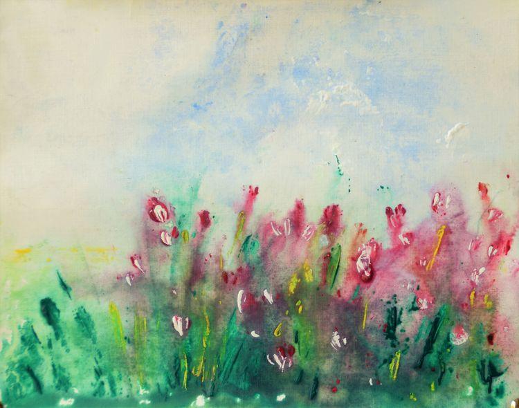 LOVE RAIN by Bansri Chavda - search and link Fine Art with ARTdefs.com
