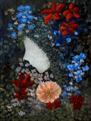 Starflower by Bianca Franklin - search and link Fine Art with ARTdefs.com