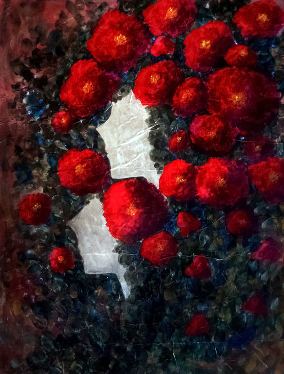 Beautiful Red by Bianca Franklin - search and link Fine Art with ARTdefs.com