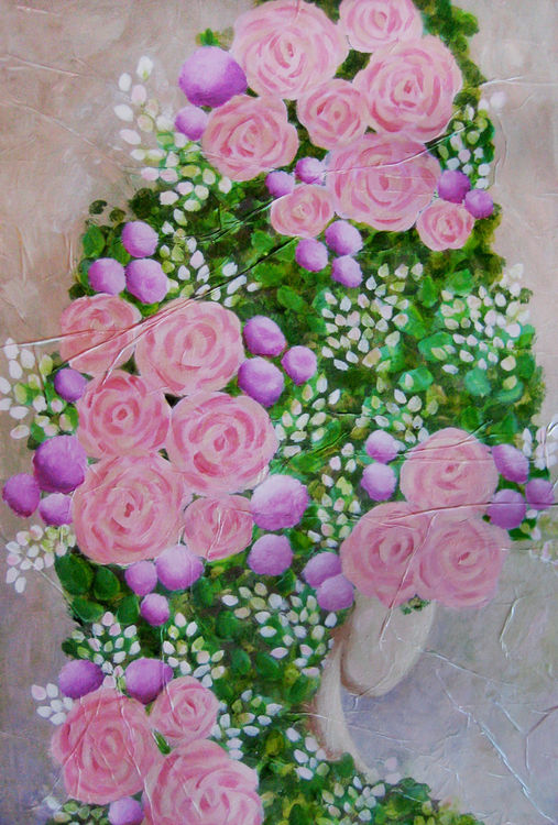 Roses by Bianca Franklin - search and link Fine Art with ARTdefs.com