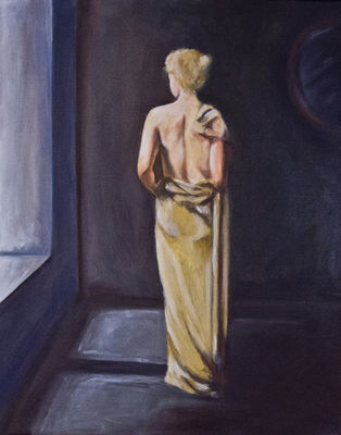 Dress by Bianca Franklin - search and link Fine Art with ARTdefs.com