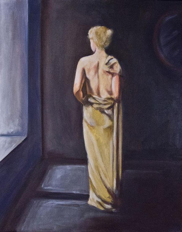 Dress by Bianca Franklin - search and link Fine Art with ARTdefs.com