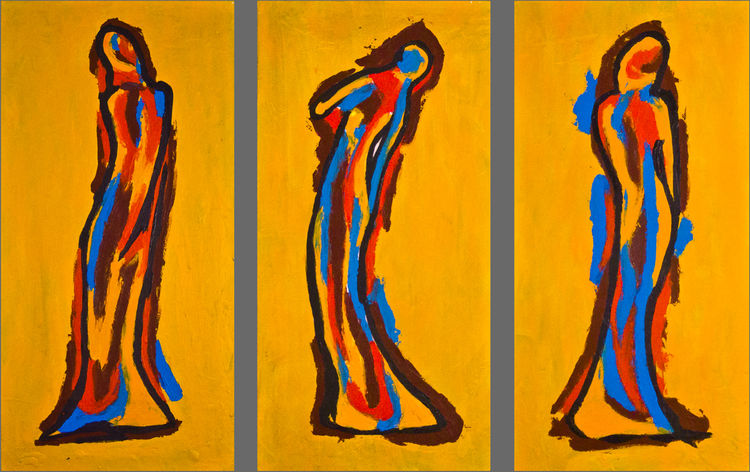 The Women by Bianca Franklin - search and link Fine Art with ARTdefs.com