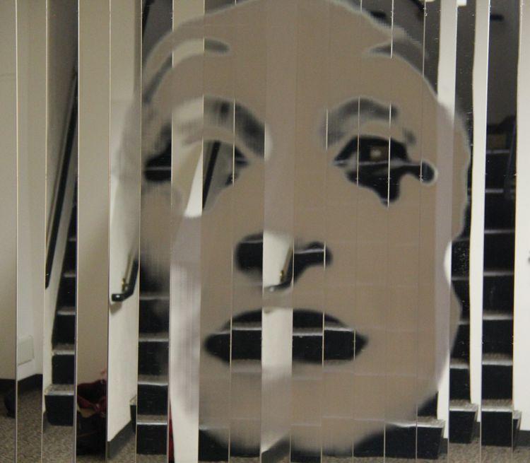 Rehearsing Mirror by Belgin Yucelen - search and link Fine Art with ARTdefs.com