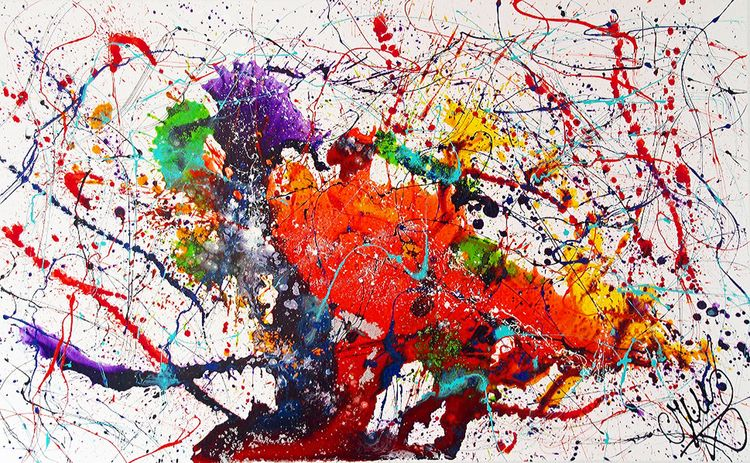 """""""Chameleon""""  By Caroline Vis by Caroline Vis - search and link Fine Art with ARTdefs.com"""