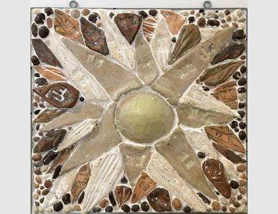 Sun Tiles by Carol Fleming - search and link Fine Art with ARTdefs.com