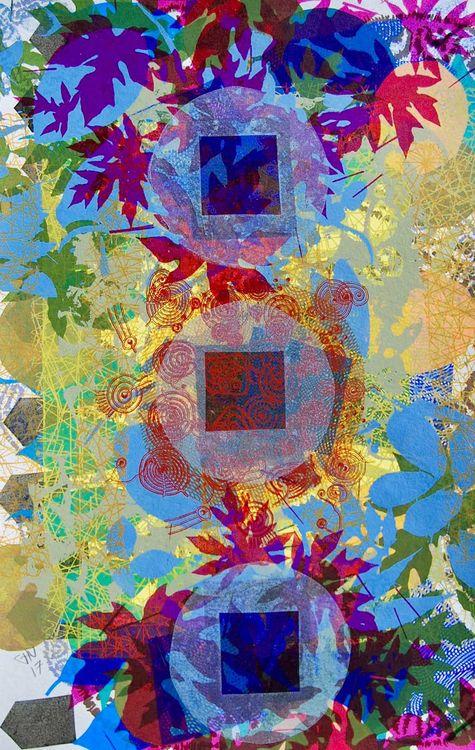 Jungle Wisdom by Carlos Uribe - search and link Fine Art with ARTdefs.com