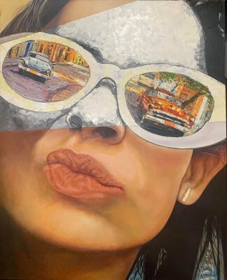 Spyglasses II by Cristian Mesa Velázquez - search and link Fine Art with ARTdefs.com