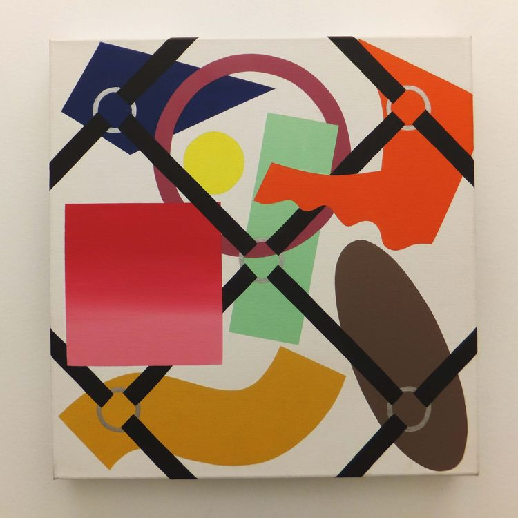 Supported X Harness by Walter Fydryck - search and link Fine Art with ARTdefs.com