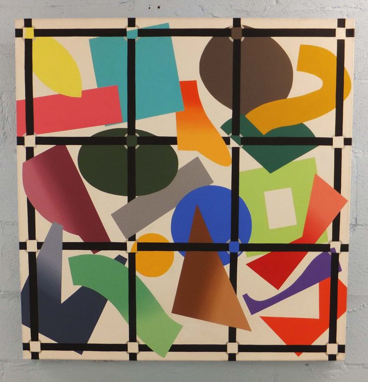 Grid Lock by Walter Fydryck - search and link Fine Art with ARTdefs.com