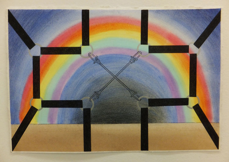 Captured Rainbow by Walter Fydryck - search and link Fine Art with ARTdefs.com