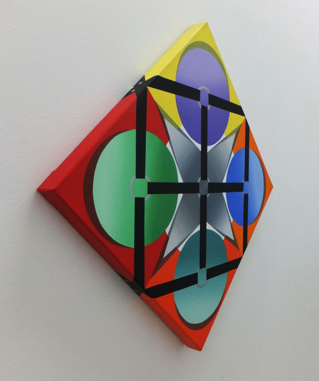 Maintaining Color Theory 2 by Walter Fydryck - search and link Fine Art with ARTdefs.com