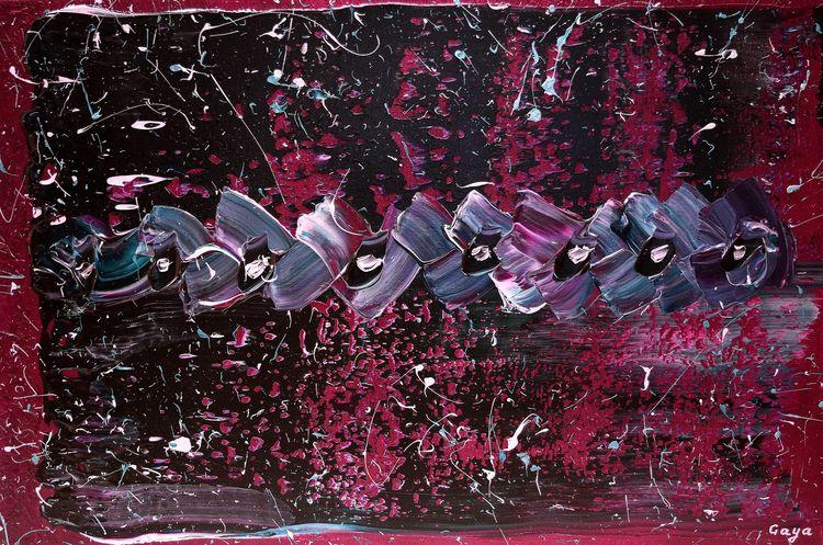 City Mix in Neons by Gaya Karapetyan - search and link Fine Art with ARTdefs.com