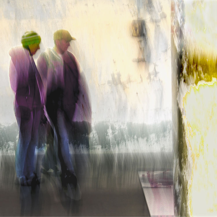 Pillar Couple by George Kaplan - search and link Fine Art with ARTdefs.com