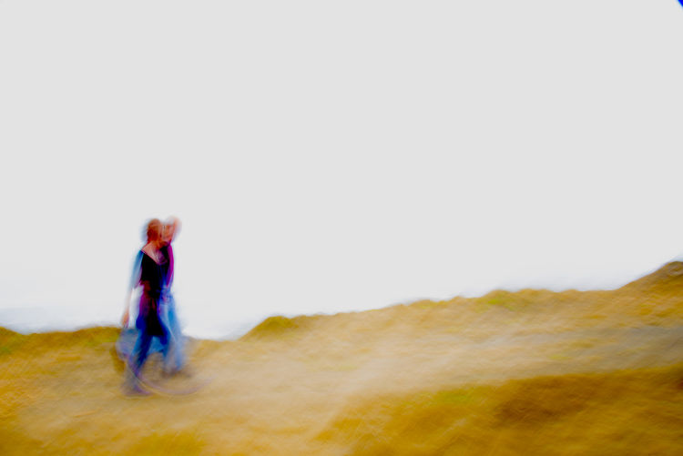 Cliff Walkers by George Kaplan - search and link Fine Art with ARTdefs.com
