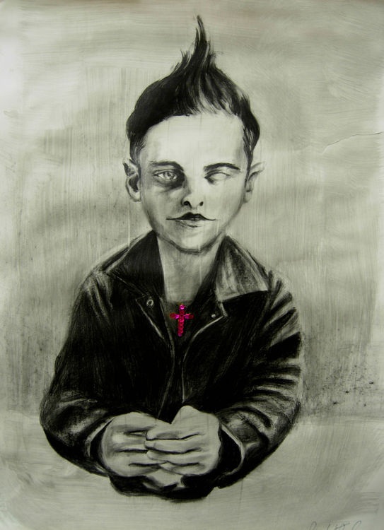 a criminal with angel face by Giuditta-R - search and link Fine Art with ARTdefs.com