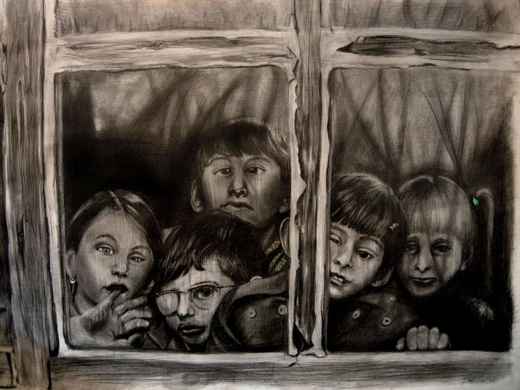 Drops of Madness IX (imprisoned) by Giuditta-R - search and link Fine Art with ARTdefs.com