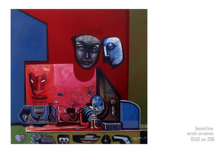 Beyond love by Gyanendra Pratap Singh - search and link Fine Art with ARTdefs.com
