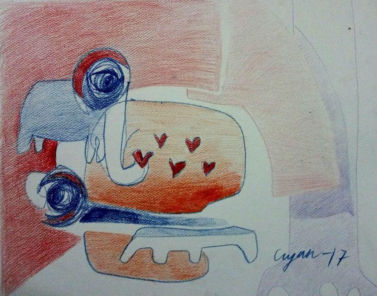 Honesty of love  by Gyanendra Pratap Singh - search and link Fine Art with ARTdefs.com